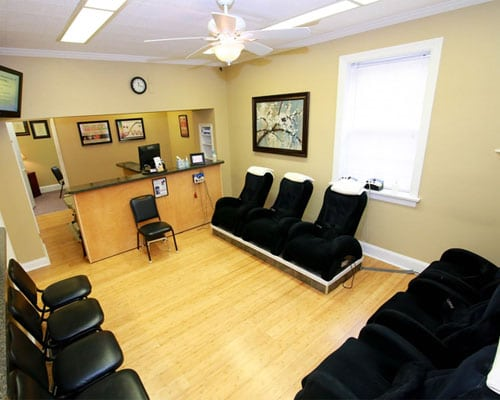 Chiropractic Bel Air MD Waiting Room
