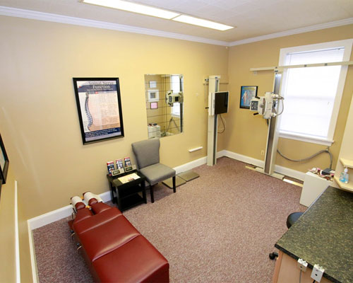 Chiropractic Bel Air MD X-ray room