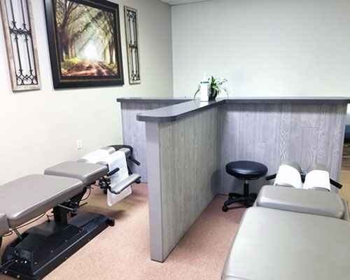 Chiropractic Overlea MD Adjustment Tables