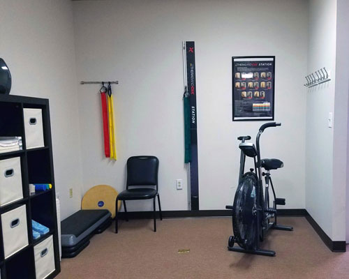 Chiropractic Overlea MD Exercise Bike