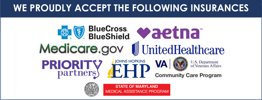 Accepted Insurances at Maryland Spine Institute